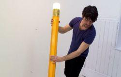 Lampa - ołówek z gumką