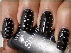 inspiracje: studded nails