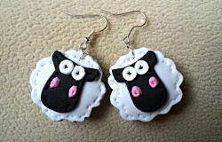 Kolczyki owieczki