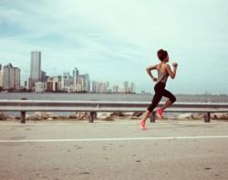 running & reading