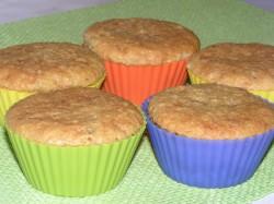 Muffinki pomarańczowe z mleczna czekoladą