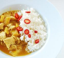 Orientalne curry z kurczakiem
