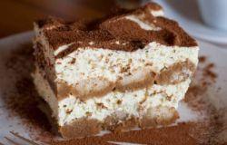 Przepis na deser tiramisu czyli ciasto bez pieczenia