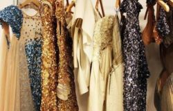 złote sukienki