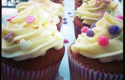 Cytrynowe cupcake - przepis na słodkie szczęście ;)