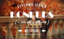 Stylowa jesień z Szafa.pl - KONKURS