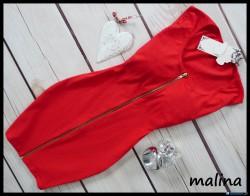 sukienka zapinana