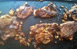 Dzisiejszy obiad-grillowana karkówka