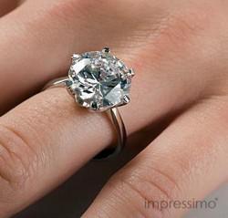 Pierścionek zaręczynowy z diamentem 2,5 ct