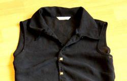 Czarna koszula z ćwiekami DIY