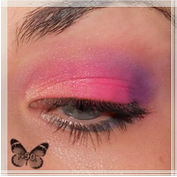 Landrynkowy makijaż
