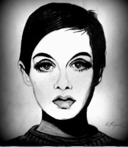 Nowy rysunek - Twiggy & Catwoman