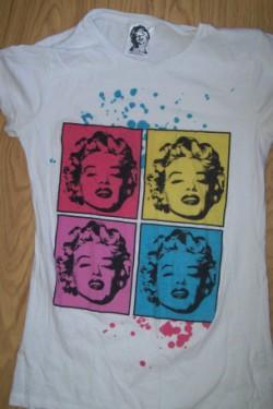 Nowosci-Bluzka Marilyn Monroe, spodniczka i torba