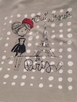 Paryż i t-shirt :)