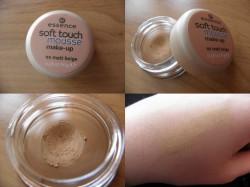 Reenzja Essence - Soft Touch Mousse Make-up - matujący podkład w musie