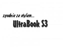 zgodnie ze stylem Ultrabooka S3