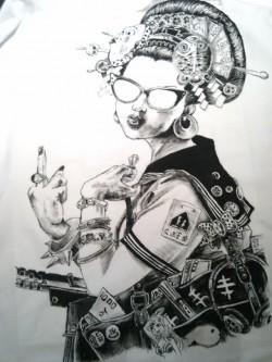 niegrzeczna geisha