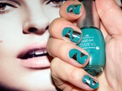 Nails.....   mirrors :))