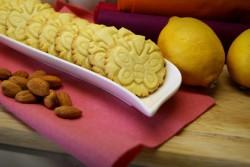 Ciasteczka migdałowo cytrynowe