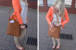 OUTFIT - NEON ORANGE NUDE. New in!
