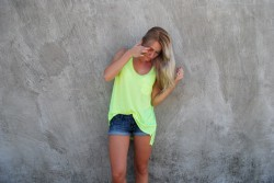 OUTFIT - YELLOW NEON H&M