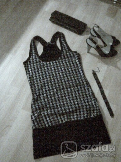 Imprezowe sukienko tunika