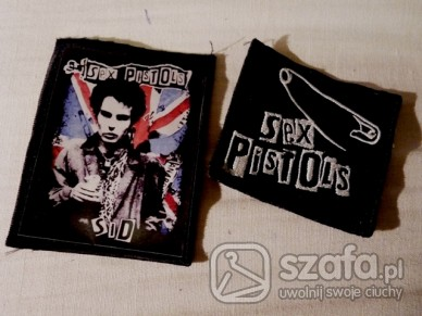 Pozostałe Naszywki Sex Pistols Sid Vicious