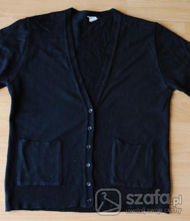 Czarny cardigan 38/40