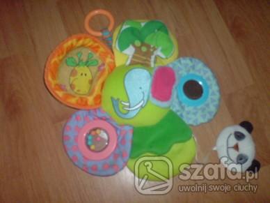 Zabawki Kwiatek wielofunkcyjny dla niemowlaczka