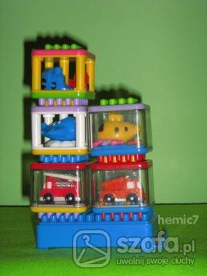 Zabawki KLOCKI Z ' FISHER PRICE '