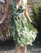 Zwiewnie i zielono:)