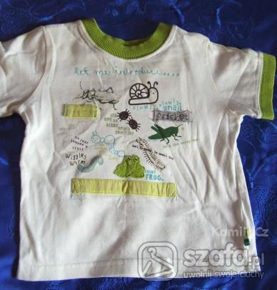 Koszulki, podkoszulki ŚLICZNA KOSZULKA NA LATO,ROZ.86