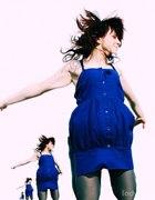 Niebieska sukienka :)