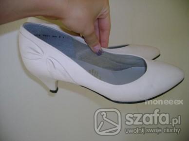 rozmiar 5,5 (38,5) śliczne kremowe buciki