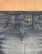 Miniówka jeansowa obcisła...