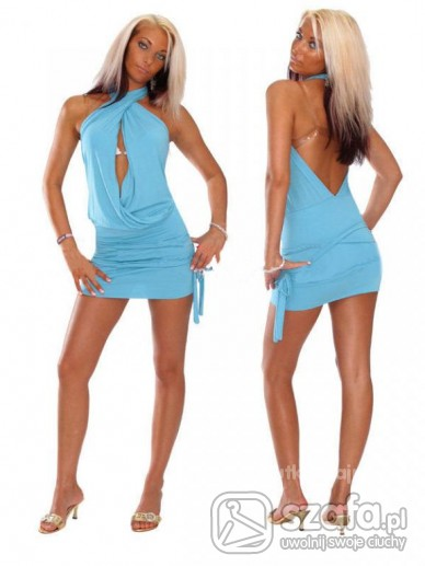 Tuniki Superowa tuniczka niebieska