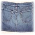 spódniczka dżinsowa sexi bluzeczkajaponki
