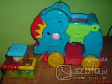 Zabawki Słonik fischer price