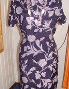Fiołkowa sukienka UNLIMITED 44 46