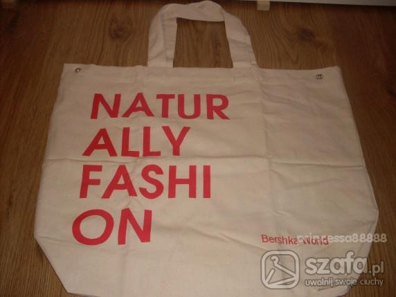 Mój styl Eko torba Bershka