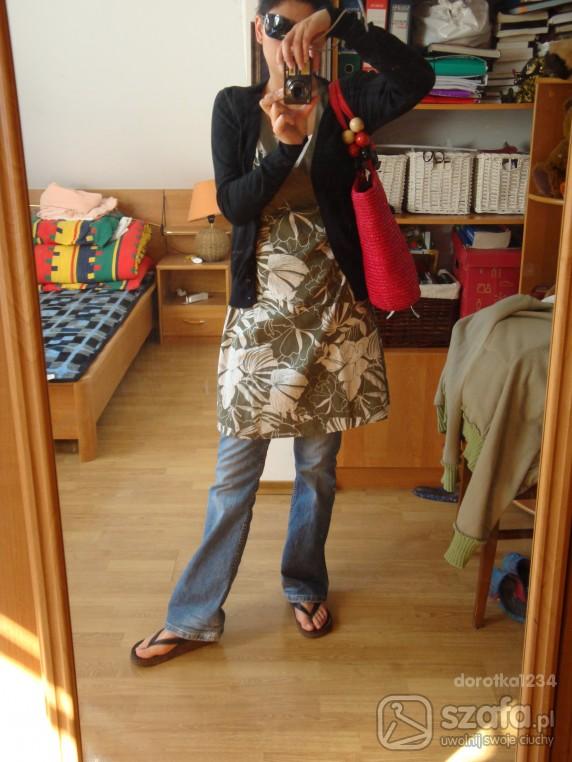 Mój styl Sukienkowo dżinsowo