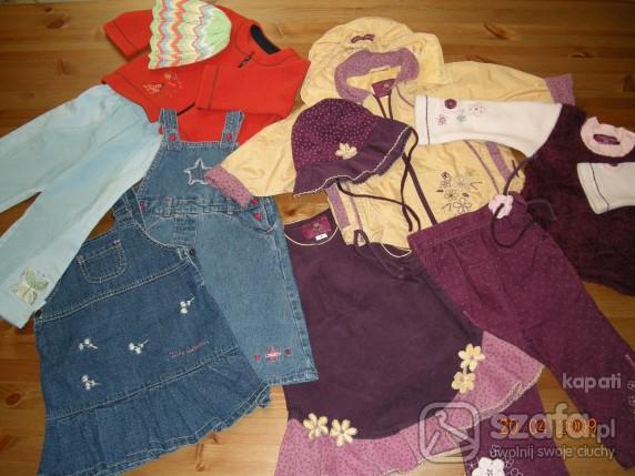 Komplety zestaw ubranek dla dziewczynki od 15 do 2 lat
