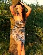 Wężowa sukienka