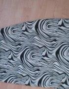 Sukienka tunika zebra