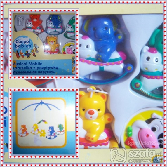Zabawki Karuzelka 30zł z przesyłką
