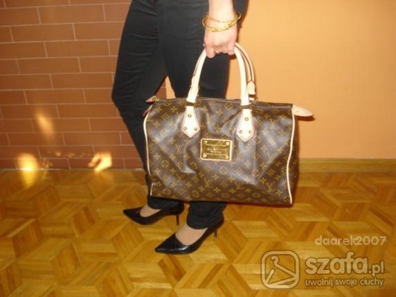 Speedy 35 z blaszka Louis Vuitton