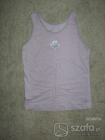 Koszulki, podkoszulki podkoszulek z kotkiem na rozmiar 134 do 140