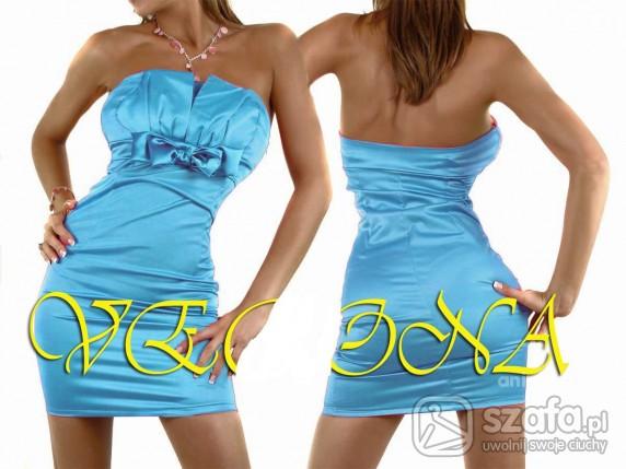 Suknie i sukienki Niebieskie cudenko