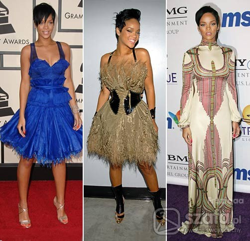 Na specjalne okazje Rihanna