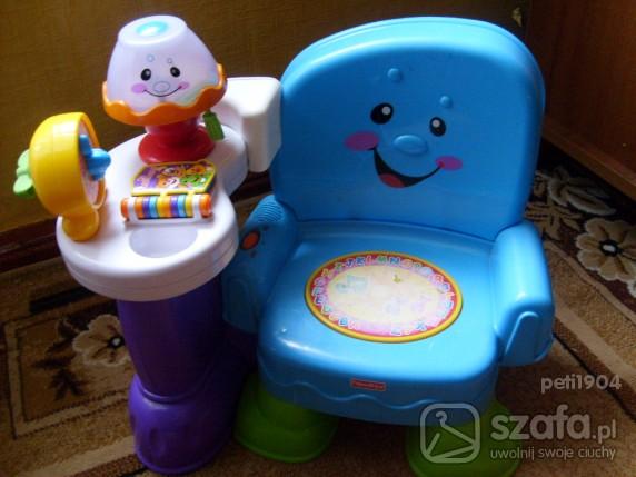 Zabawki krzesełko edukacyjne Fisher Price